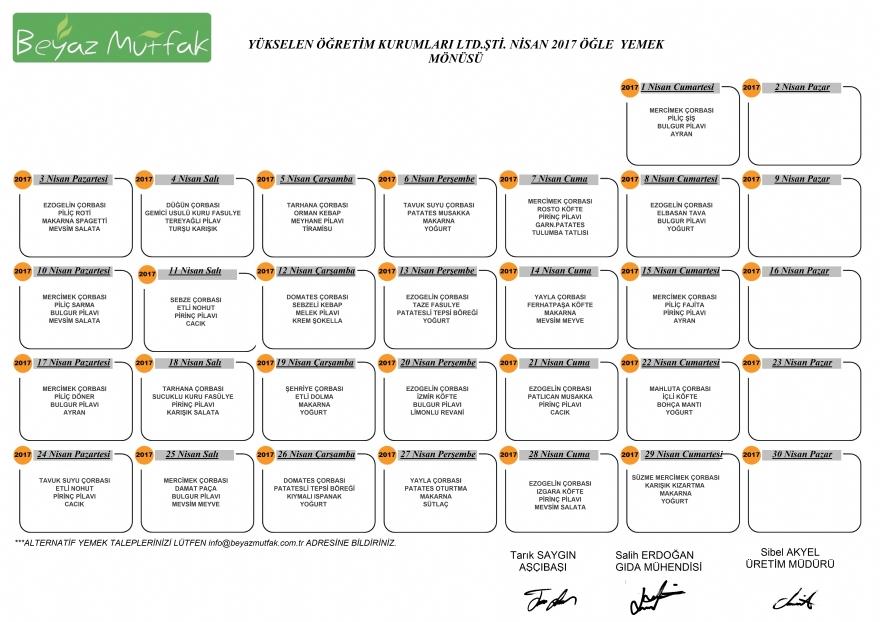 SINAV ORTAOKULU - Beyaz Mutfak Catering, İkitelli tabldot catering yemek firmalari, Toplu Yemek Hizmetleri